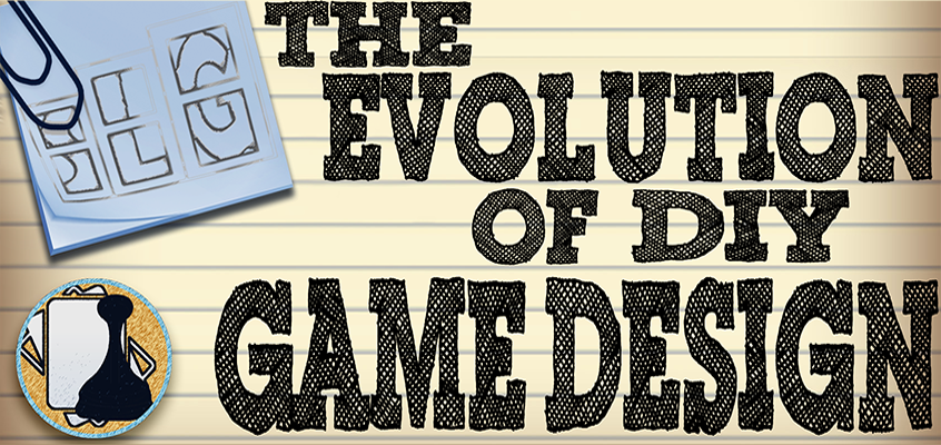Notecard Background image for the Evolution of game design notecards and proxies article - Streamlined Gaming