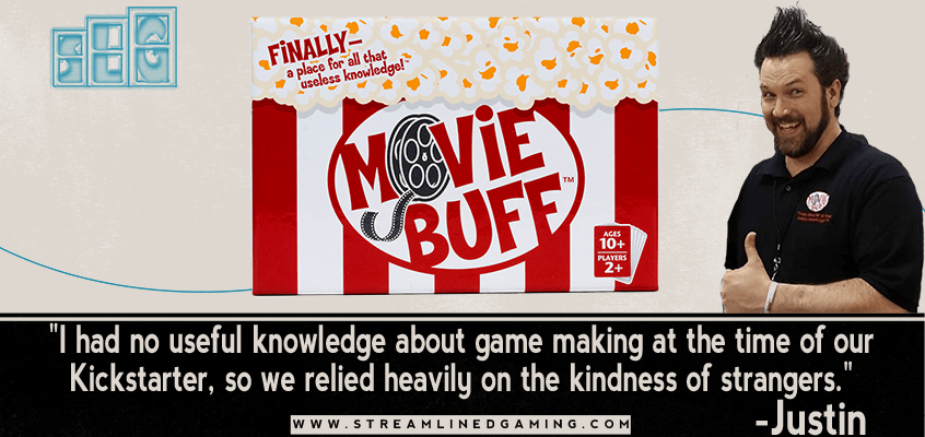 Movie Buff the Game Justin Purvis Interview Streamlined Gaming