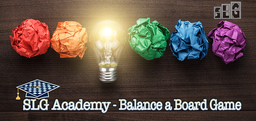 Board Game Balance Challenge by Streamlined Gaming Academy