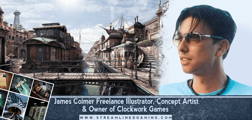 Ep. 14: James Colmer – Our First Board Game Artist Interview