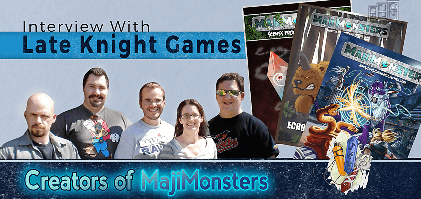 MajiMonsters Late Knight Games LLC Interview with Streamlined Gaming
