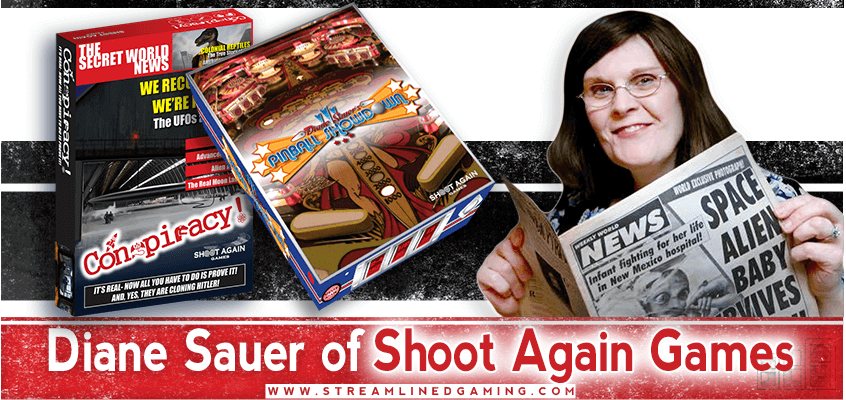 Shoot Again Games Diane Sauer Interview By Streamlined Gaming