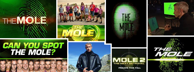 Games Like The Mole TV Game Show Board Game