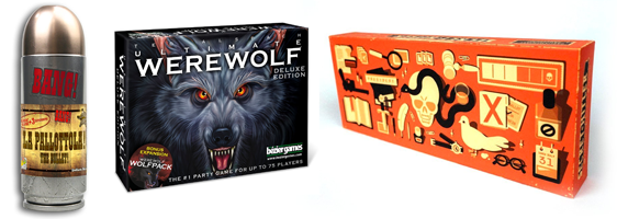 Games with Secret Roles Bang Werewolf Secret Hitler