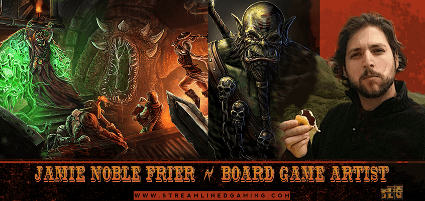 Ep. 20: Jamie Noble Frier – Where to Find Great Board Game Artists and More
